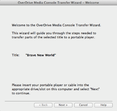OverDrive | How to transfer audiobooks to an iPod us