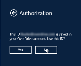 Use previous authorization option. See instructions above