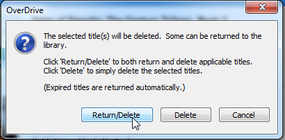 Return Delete dialog. See instructions above.