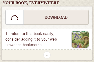Screenshot showing the download option for an OverDrive Read eBook
