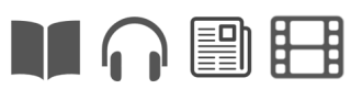 format icons on a libary website