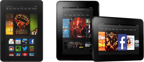 Image of Kindle Fire tablets