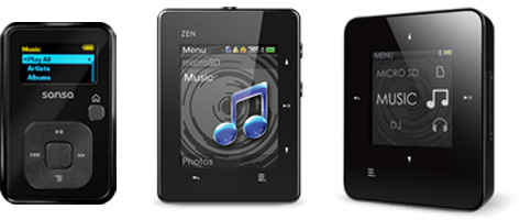 Image of MP3 players