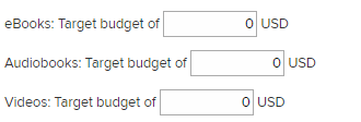The budget and policies page for a CPC plan. See instructions above.