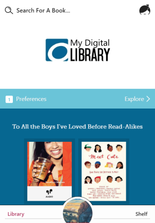 Libby home page