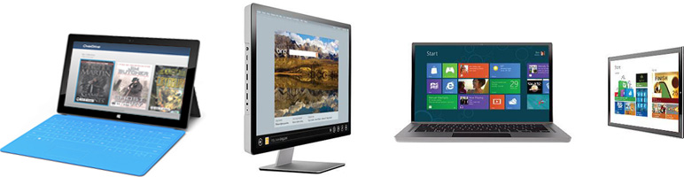 Image of Windows 8 and RT devices