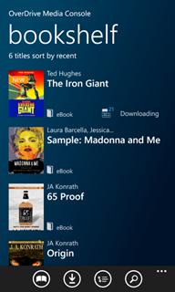 App bookshelf