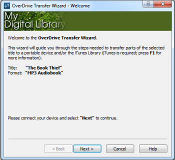 Transfer wizard window. See instructions above.