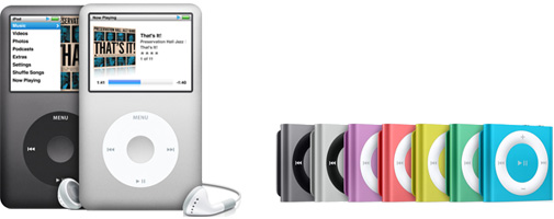 Image of iPods